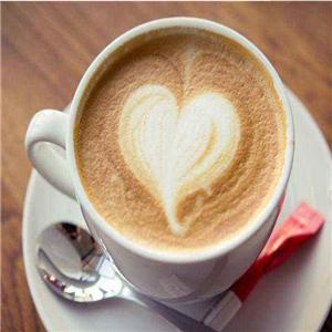黄金麦田咖啡爱心