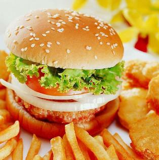 hitburger堡嗝汉堡可口
