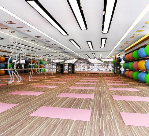 力加健身房瑜伽