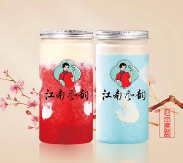 江南風韻奶茶飲品產品1