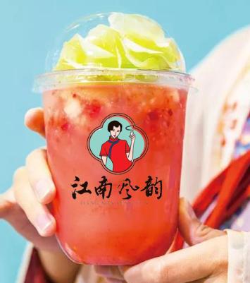 江南風韻奶茶飲品產品2