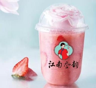 江南風韻奶茶飲品產品3