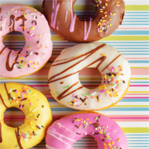 加里小镇甜甜圈品种多