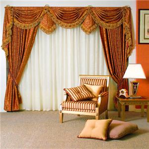 柯力達窗簾-棕色