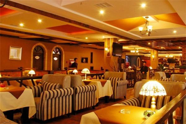 旺九咖啡店沙發