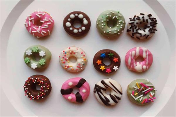 加美滋甜甜圈品種多