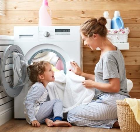 洗衣媽媽潔凈
