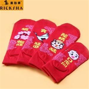 黃包車襪子款式多