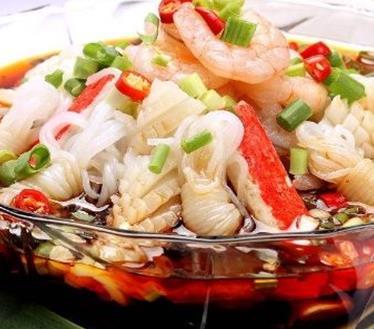 小海甲撈汁小海鮮味美