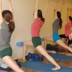 优伽瑜伽排练