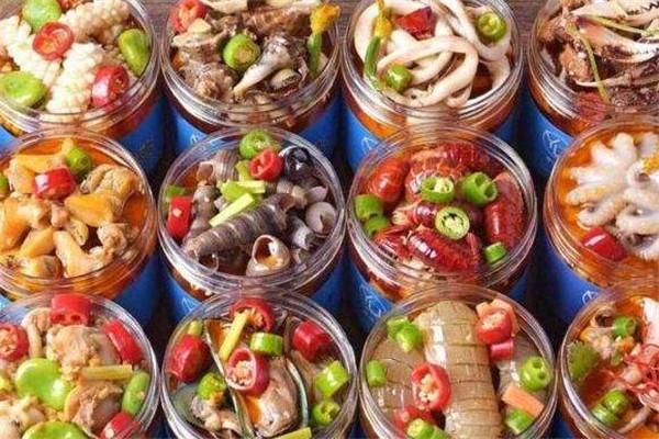 小海甲撈汁小海鮮多種