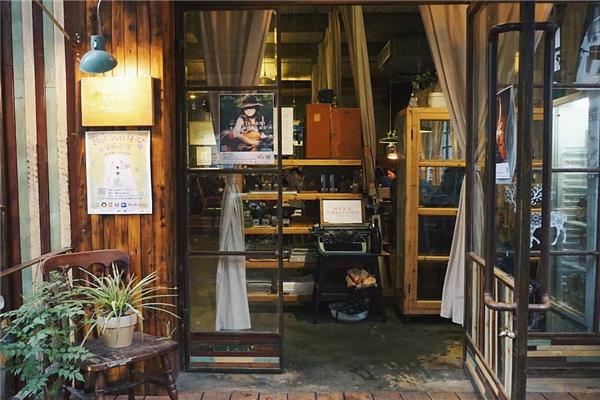 英倫時光咖啡柜臺