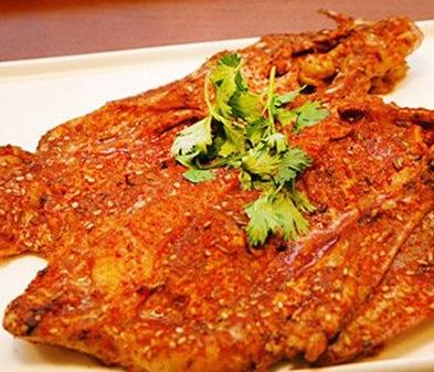 甄旺烤鸡架美食