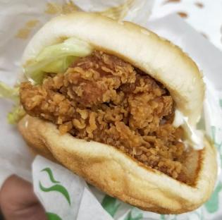 美尚嘉炸雞漢堡