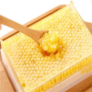 蜜巢蜂蜜味道独特