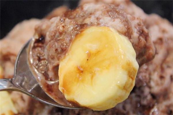 大高雄黑砂糖刨冰香蕉