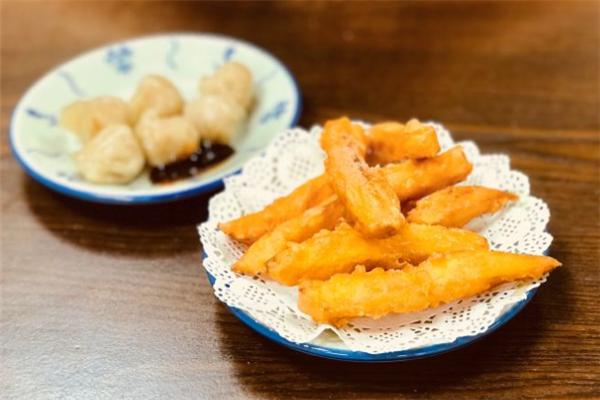 四季糖水薯條