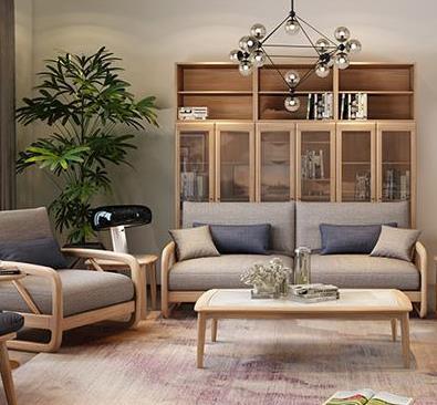 法貝尼定制家具客廳