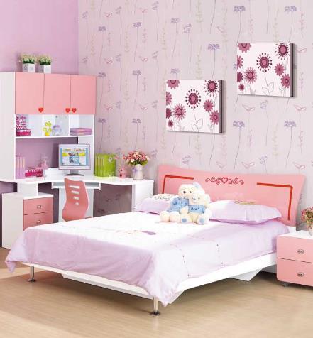迪士樂園兒童家具粉色