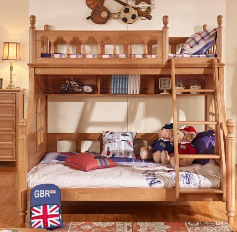 迪士樂園兒童家具床