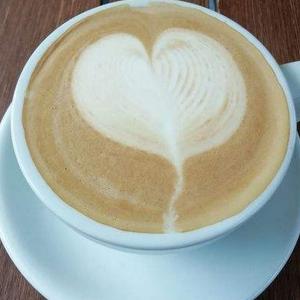 遇见书店咖啡美味