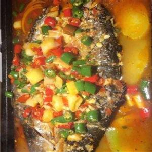 魚篝炭火烤魚經典