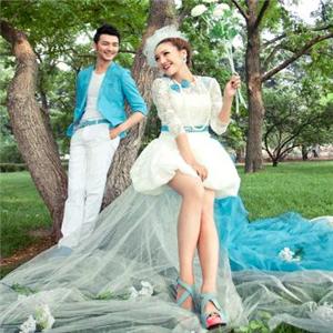 蓝朵婚纱摄影取景
