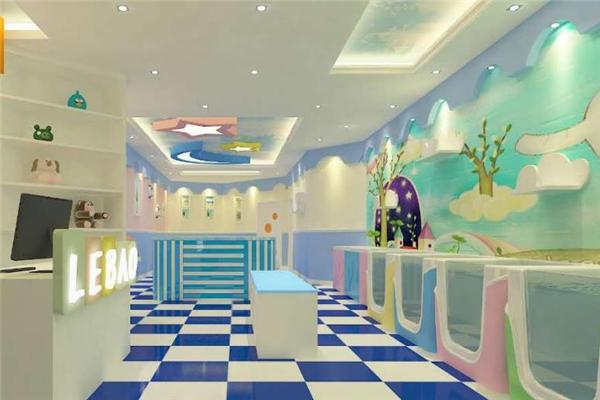 可爱可亲婴儿游泳馆门店