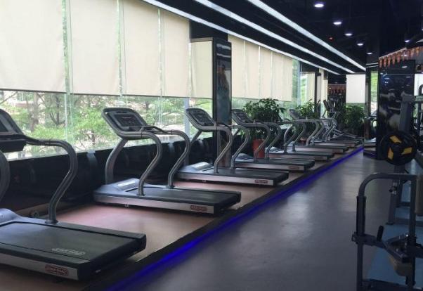 康體貝力健身館跑步