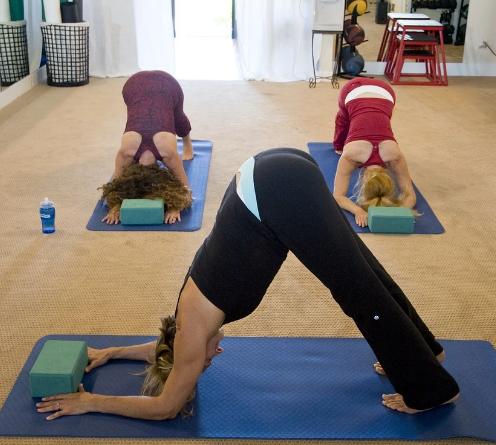 木姿瑜伽健身运动