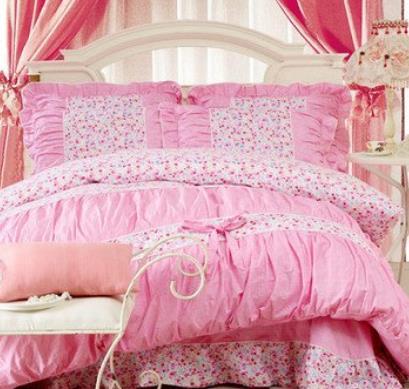 知音家纺粉色
