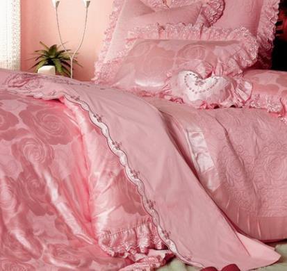 美暢家紡粉色