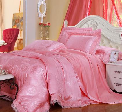 唐人居家紡粉色
