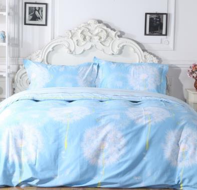 朗缦家纺蓝色