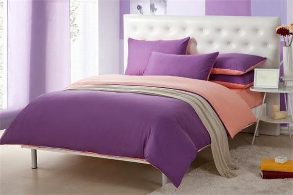 富得豪家纺紫色