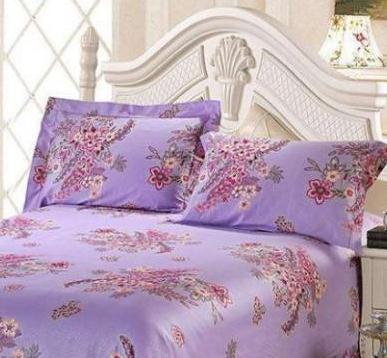 媛夢萊家紡紫色