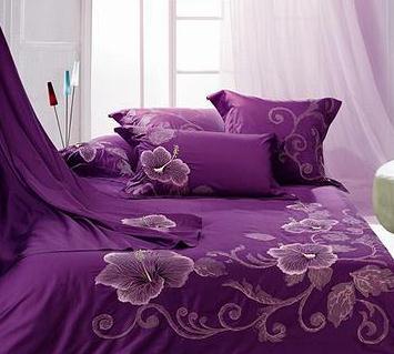 紫絮家紡紫色