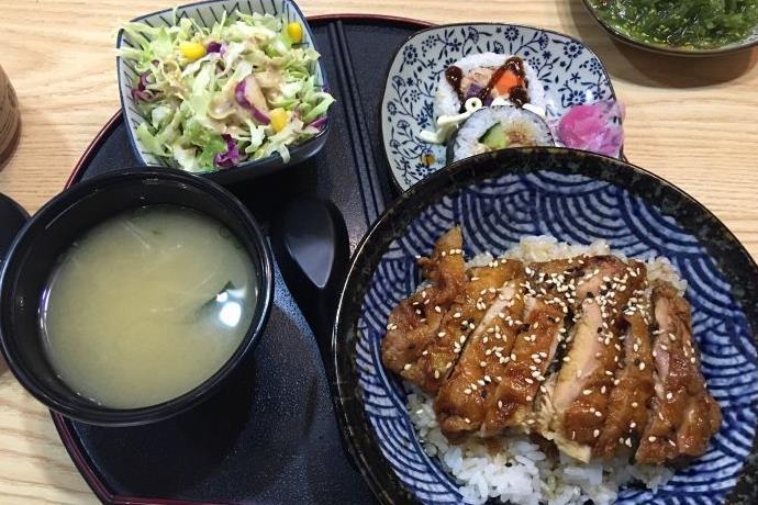 奈良小鹿日式鸡排饭