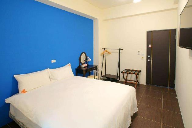 轻旅酒店房间