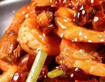 蜀孟德香辣虾