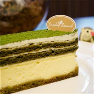 蓝美点蛋糕