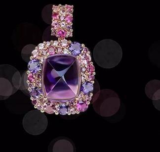 金晴珠宝紫色
