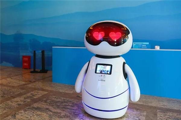 小度機器人紅色