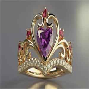 可人儿珠宝戒指