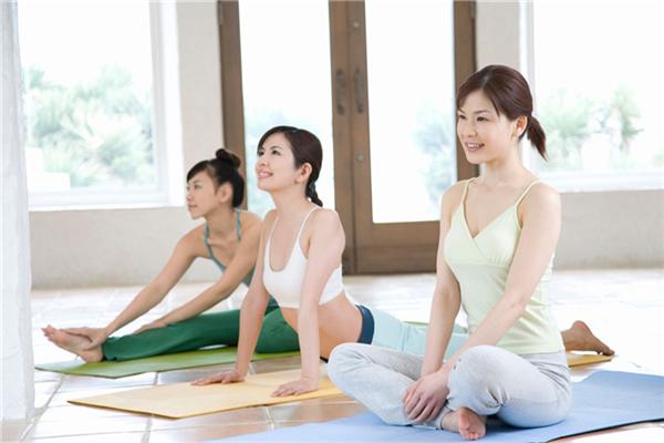 青青瑜伽会所宣传