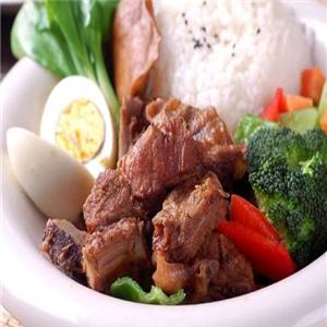 朵颐排骨米饭