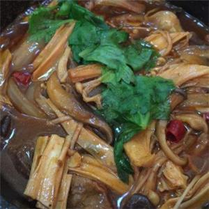 尚品饞嘴香雞公煲腐竹