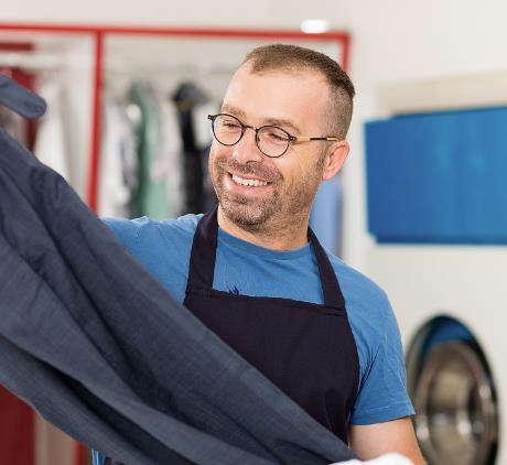 家洁仕干洗熨衣服