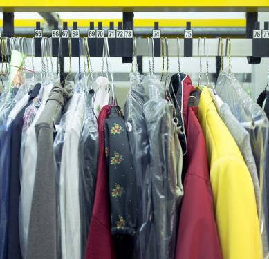 羽曼干洗多件衣服