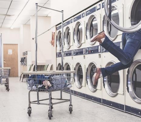羽曼干洗机房